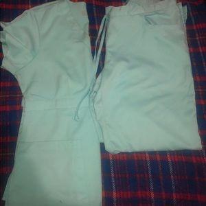 Very cute Grey's anatomy scrub set.  Large